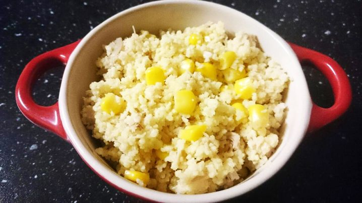 Chicken and Corn Couscous