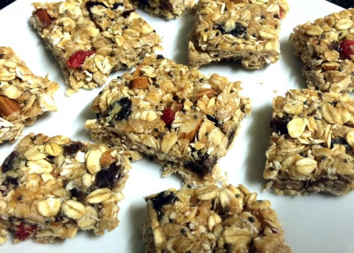 Easy No-Bake Muesli Bars