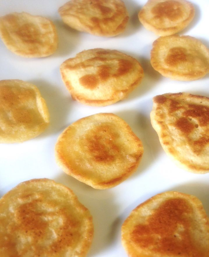 Golden Wholemeal Pancake Coins