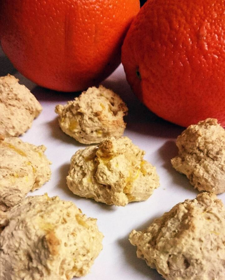 Orange Wholemeal Drops