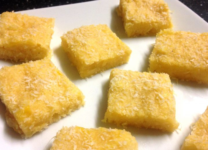 Pineapple Coconut Slice