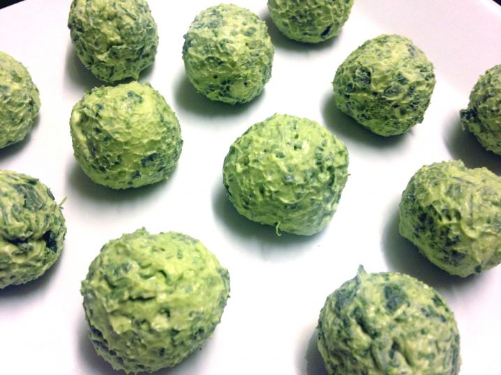 Spinach Cream Cheese Balls