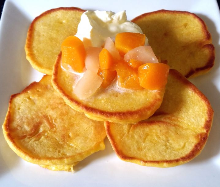 Tasty Two-Fruits Pancakes