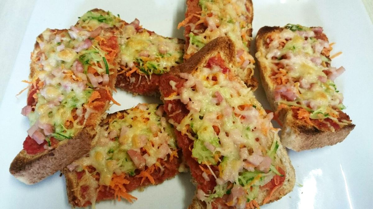 Pizza Toast Simple Toddler Recipes