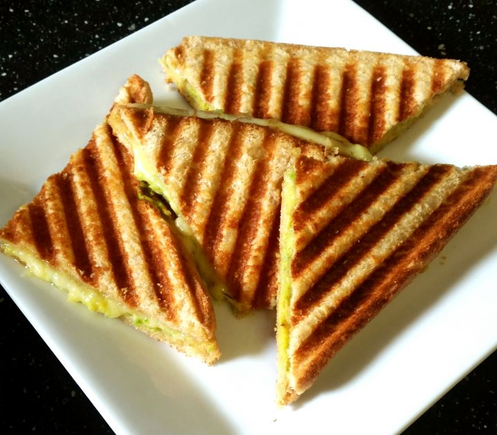 Avocado and Cheese Toasties